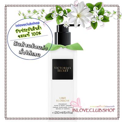 Victoria's Secret / Hand & Body Cream 250 ml. (Lime Blossom)