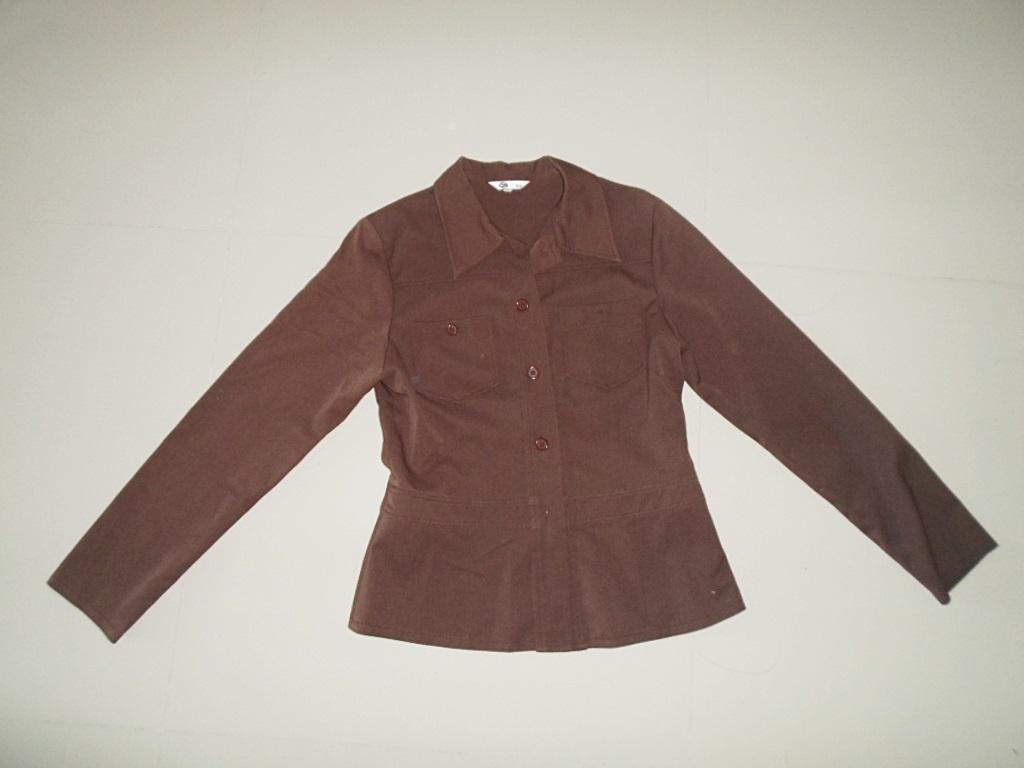 เสื้อ Jacket เสื้อสูท ผู้หญิง สีน้ำตาลเข้ม เสื้อคลุมแขนยาวแบบสูท ผ้าหนา ใส่สบาย เสื้อสูท ผู้หญิง แบบเท่ ๆ ราคาถูก us004