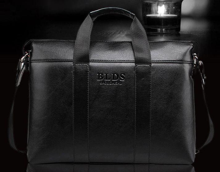 กระเป๋าถือผู้ชาย หนังแท้ แบบคลาสสิค สไตล์ ที่ผู้บริหารนิยม ใช้ เรียบหรู ทนทาน กระเป๋าถือสุดฮิต ลงนิตรสารต่างประเทศ สีดำ no 912089