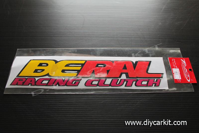 สติ๊กเกอร์สะท้อนแสงติดรถ Beral Racing Clutch