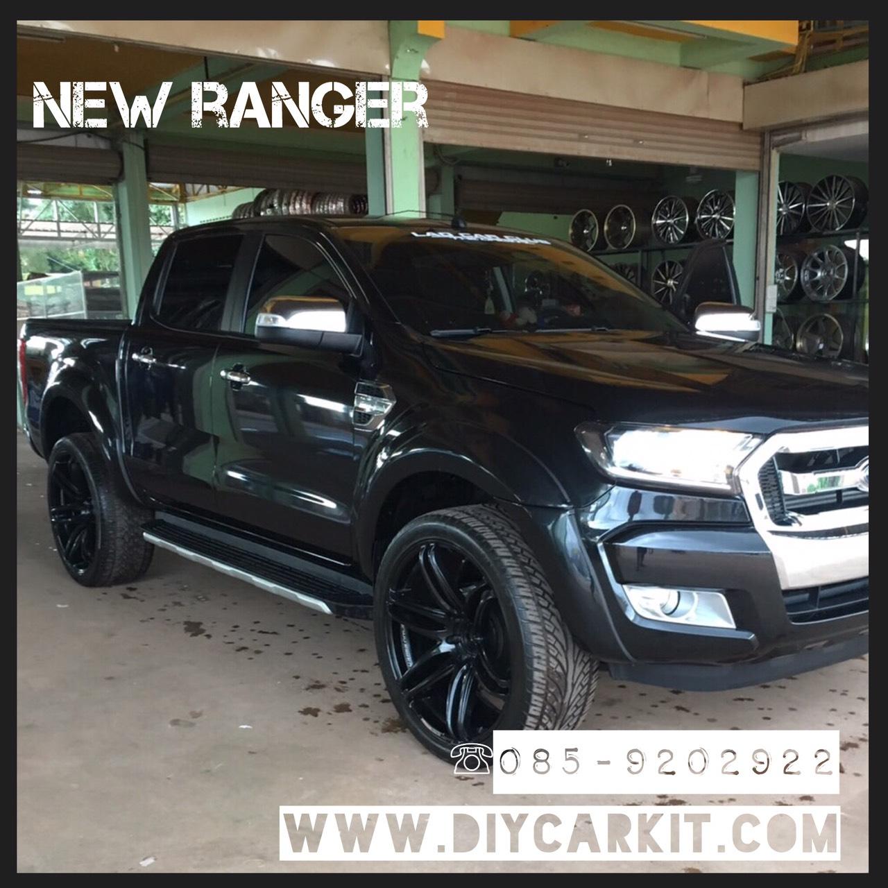 คิ้วล้อรถแบบรุ่นV1 New Ranger'12-16