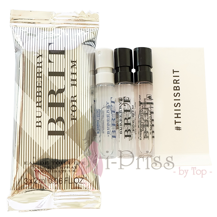 Burberry Brit for Him Perfume Sample Set
