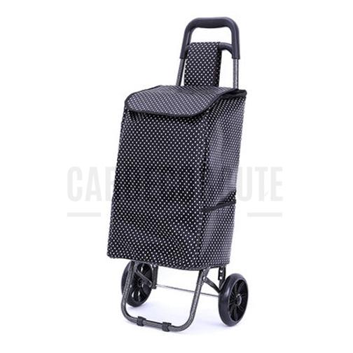 Shopping Trolley Bag - กระเป๋าผ้ามีล้อลาก กระเป๋ารถเข็นล้อลาก กระเป๋ารถเข็นพับได้ รุ่น 2 ล้อ