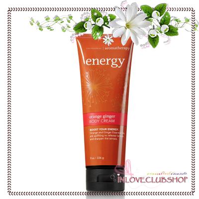 Bath & Body Works Aromatherapy / Body Cream 226 ml. (Energy - Orange Ginger)