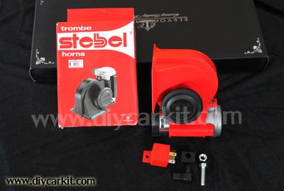 แตรลมไฟฟ้า Stebel horns BT50 Pro