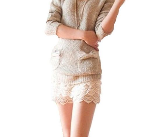 กางเกงขาสั้น กางเกงผู้หญิง ขาสั้น ผ้าลูกไม้ สีครีม สไตล์ คุณหนู ไฮโซ กางเกงขาสั้น สำหรับ สาวขายาว ร่างเพรียว ใส่สบาย ใส่เที่ยว 887032