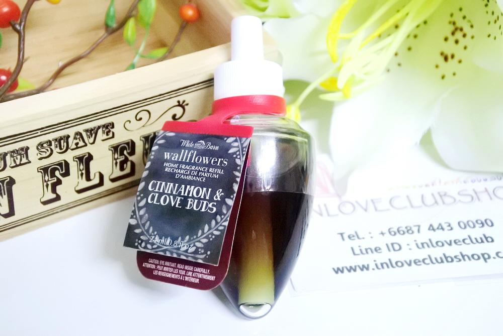 Bath & Body Works / Wallflowers Fragrance Refill 24 ml. (Cinnamon and Clove Buds)