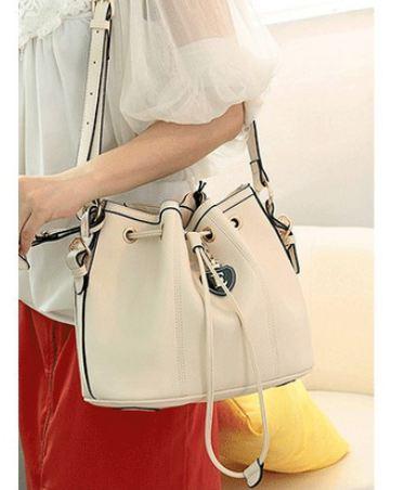 กระเป๋าสะพายข้าง ผู้หญิง ทรงถุง สีหวาน ๆ สำหรับใส่กระเป๋าสตางค์ โทรศัพท์ เครื่องสำอางค์ ใช้ในชิีวิตประจำวัน 5 สี 5 สไตล์ 864590