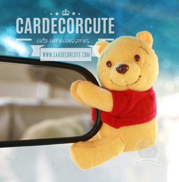 POOH - หมีพูห์เกาะกระจกมองหลัง