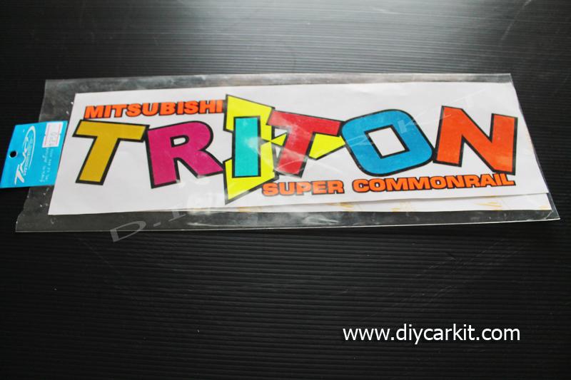 สติ๊กเกอร์สะท้อนแสงติดรถ Triton