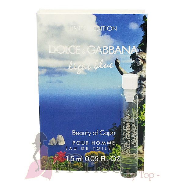 DOLCE & GABBANA Light Blue Beauty of Capri Pour Homme (EAU DE TOILETTE)