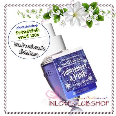 Bath & Body Works / Wallflowers Fragrance Refill 24 ml. (Juniperberry & Pine)