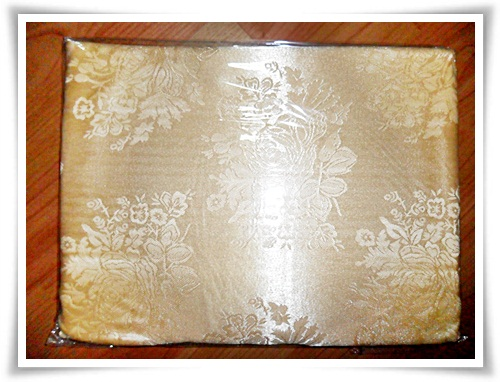 ผ้าแพรรับไหว้ ผ้าแพรสีทอง ของรับไหว้ วันตรุษจีน
