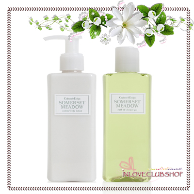Crabtree & Evelyn - Body Lotion+Shower Gel 200 ml. (Somerset Meadow) *มีกล่องครบ