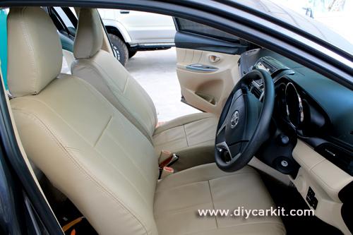 ชุดหุ้มเบาะรถยนต์ New Vios'13-16