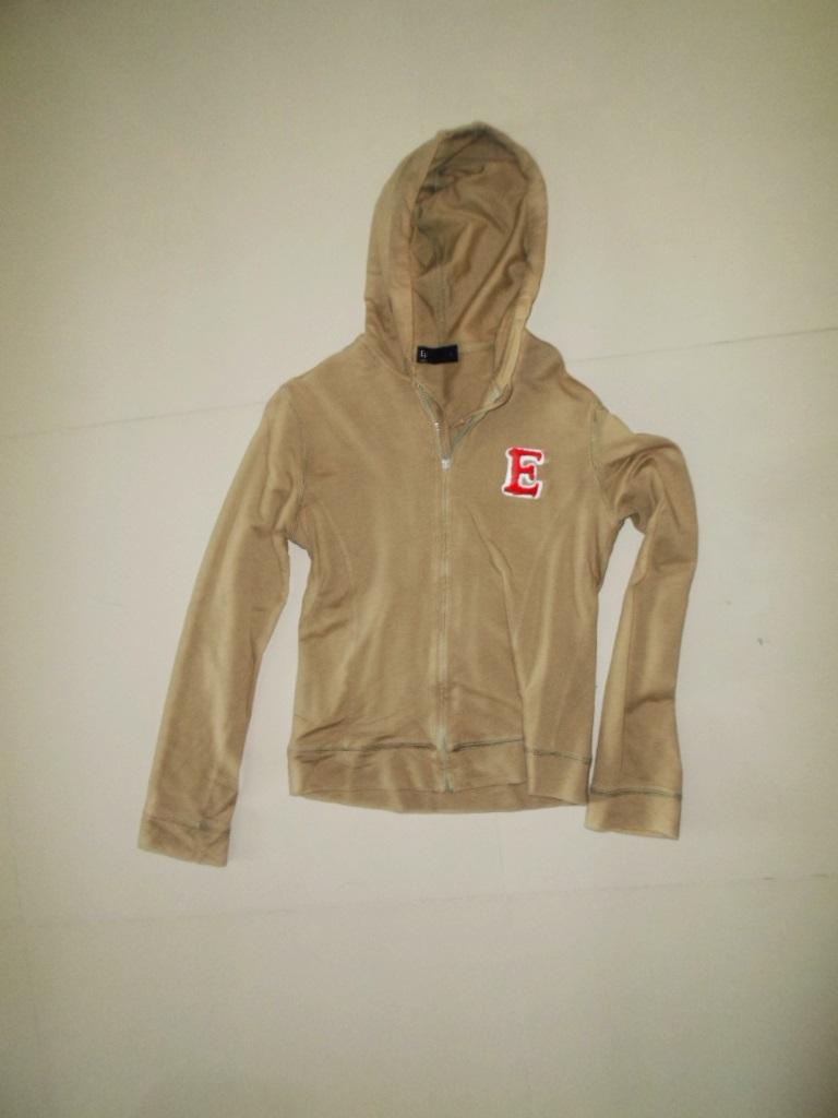 เสื้อกันหนาว มือสอง เสื้อแขนยาว ผ้า cotton แบบวัยรุ่น ดีไซน์ เก๋ สีเขียว Army มีหมวก เสื้อกันหนาว วัยรุ่น ผู้หญิง ราคาถูก us002