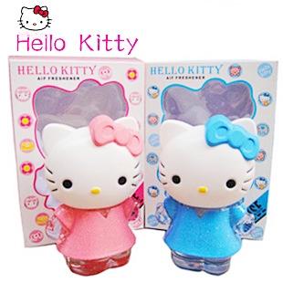 ( ลด 30 % ) HELLO KITTY - ขวดน้ำหอม รูปตัวคิตตี้ ( 2 สี )