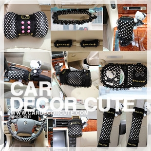 ( ลด 15 % ) HELLO KITTY - SET 9 : Charming black polka