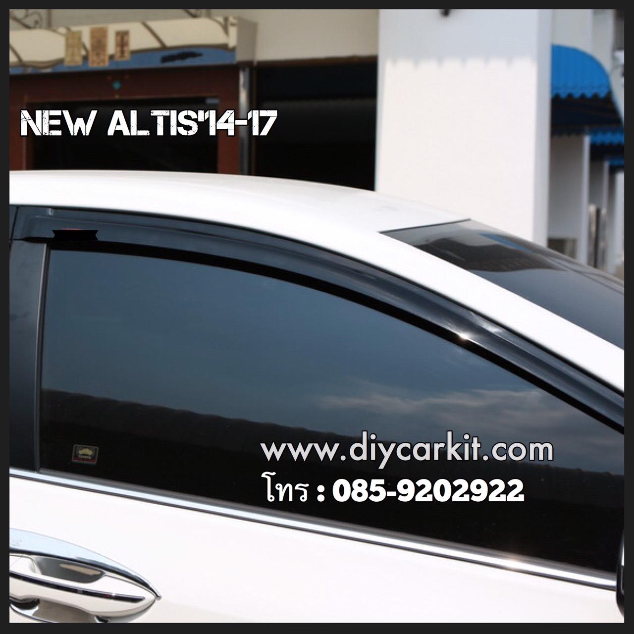 กันสาดประตูรถยนต์ New Altis 2014