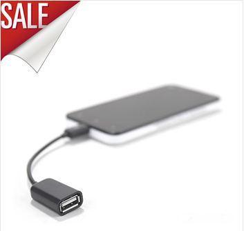 สาย OTG เชื่อมต่อ Flash Drive กับ Tablet หรือ Smart Phone