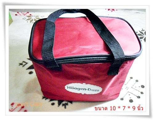 Used กระเป๋าเก็บความเย็น Haagen Dazs