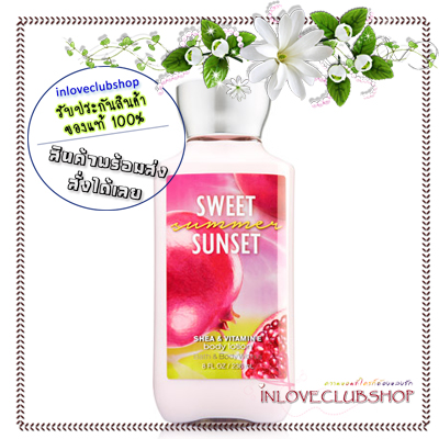 Bath & Body Works / Body Lotion 236 ml. (Sweet Summer Sunset) *Limited Edition