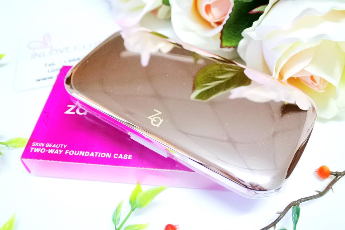 ZA / Skin Beauty Two-way Foundation (Case)