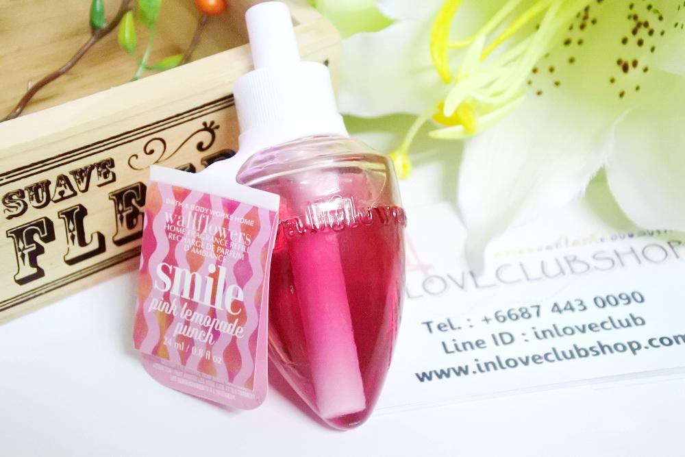 Bath & Body Works / Wallflowers Fragrance Refill 24 ml. (Smile - Pink Lemonade Punch)