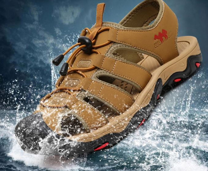 รองเท้าผู้ชาย รองเท้า แตะ แบบรัดส้น รองเท้าใส่เดินป่า ใส่เที่ยว รองเท้ารัดส้น ผู้ชาย เท่ ๆ มีสไตล์ 169679