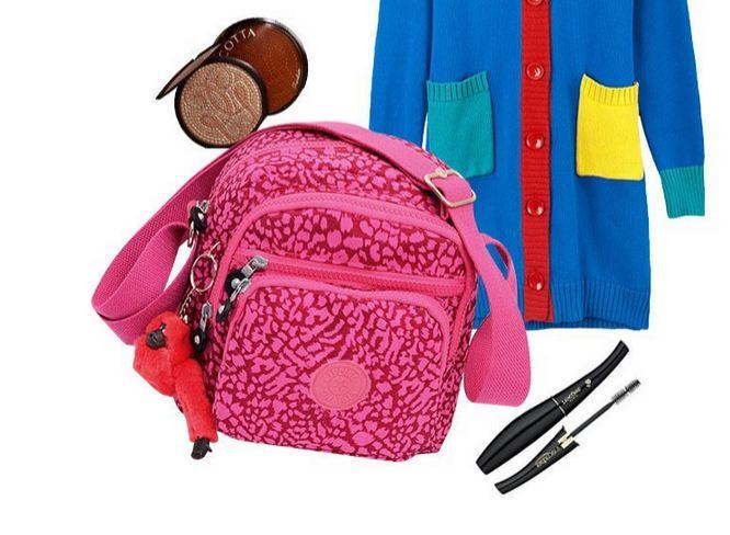 กระเป๋าสะพายข้าง ผู้หญิง ผ้าไนลอน กันน้ำ สีสัน สดใส ทรง ลูกเต๋า มีช่องแยกใส่ของ หลายช่อง แถม พวงกุญแจลิง สีฟ้า ชมพู ม่วง น้ำเงิน แดง 650673