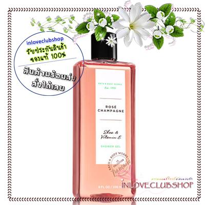 Bath & Body Works / Shower Gel 236 ml. (Rose Champagne) *Limited Edition