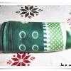 ผ้าห่มเนื้อนุ่มเนื้อสำลี สีเขียว ราคาถูก