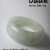 RJ23S แหวนหยกสีเขียวอ่อน