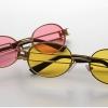 แว่นตากันแดด แว่นตาแฟชั่น แว่นตาผู้หญิง แฟชั่น ดีไซน์ ใส่เที่ยว เก๋ ๆ ออกแบบขาแว่น โปร่ง ขาคู่ กรอบแว่น ทรงรี สีชมพู เหลือง ดำ ขาว แว่นตาใส่เที่ยว 379348