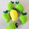 มะม่วงถักโครเชต์ mango fruit crochet