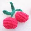 เชอรี่ถักโครเชต์ cherry fruit crochet