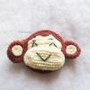 กระเป๋าใส่เหรียญลิงถักโครเชต์ monkey amigurumi crochet bag
