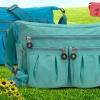 กระเป๋าสะพายข้างผู้หญิง แบบ สปอร์ต ผ้าไนลอน ทันสมัย กันน้ำได้ แถมพวงกุญแจ กระเป๋าสะพาย ท่องเที่ยว แบบซิปด้านบน เก๋ ๆ วัยรุ่น 85282