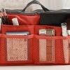 กระเป๋าจัดระเบียบของ กระเป๋าเครื่องสำอางค์ กระเป๋าใส่ของจุกจิก กระเป๋าแยกของ เหมาะสำหรับใช้เป็น กระเป๋าเดินทางขนาดเล็ก สีส้มสด no 38452_3