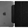 เคส Ipad mini แบบ Smart case สุดหรู 2 ชิ้น เคสแม่เหล็ก เปิดปิด อัตโนมัติ Auto Wake Up Sleep สีดำ บลัชออน ด้านหลังเป็น เคสใส โชว์เครื่อง 77054_1