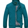 เสื้อ แจ็คเก็ต ผู้ชายแขนยาว เสื้อกันลม ผ้า 2 ชั้น Nylon,Polyester สีฟ้าน้ำทะเล สีสวย หาย เสื้อแขนยาว ใส่กันลม ขี่มอเตอร์ไซค์ 580383