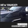 กันกระแทกแก้มข้าง สีดำด้าน New Ranger