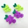 องุ่นถักโครเชต์ grape fruit crochet