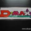 สติ๊กเกอร์สะท้อนแสงติดรถ D-MAX