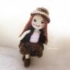 ตุ๊กตาเด็กผู้หญิงถัก ขนาด 7 นิ้ว girl amigurumi crochet dolls