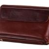 กระเป๋าสตางค์ ใบใหญ่ กระเป๋าถือผู้ชาย ใบยาว หนังแท้ สีน้ำตาล ใส่เงิน ใส่บัตร ได้เยอะ มีที่จับ ช่องซิป 2 ช่อง กระเป๋าสตางค์ แบบซิปรอบ 239817