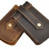 กระเป๋าใส่พวงกุญแจ หนังวัวแท้ กระเป๋าคาดเอว สำหรับ ใส่ กุญแจ สไตล์ วินเทจ คาวบอย เท่ ๆ ปกป้อง กุญแจ ของขวัญให้แฟน สุดหรู 908050