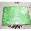 ผ้าแพร 6 ฟุต สีเขียวอ่อนลายดอกกุหลาบใหญ่ P105