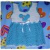 เสื้อเด็กมิกกี้เม้าท์ถักโครเชต์ (mickey mouse dress baby)