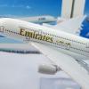 โมเดลเครื่องบิน Emirates airline airbus A380 ขนาด 16cm, metal airplane models no 3410899